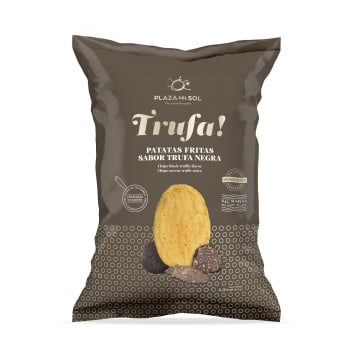 PLAZA DEL SOL Chipsy ziemniaczane o smaku czarnej trufli 115g