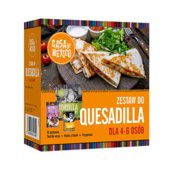 CASA DE MEXICO Zestaw do quesadilla (dla 4-6 osób) 690g