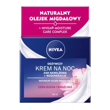 NIVEA Odżywczy krem na noc 24 h - cera sucha i wrażliwa 50ml