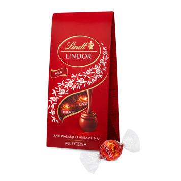 LINDT Lindor Praliny z czekolady mlecznej 100g