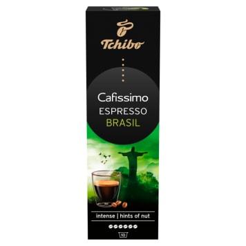 TCHIBO Cafissimo Kawa palona mielona w kapsułkach Espresso Brasil 10 kapsułek 80g