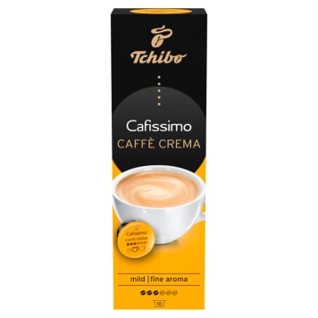 TCHIBO Caffe Crema Mild Kawa w kapsułkach 10szt 70g