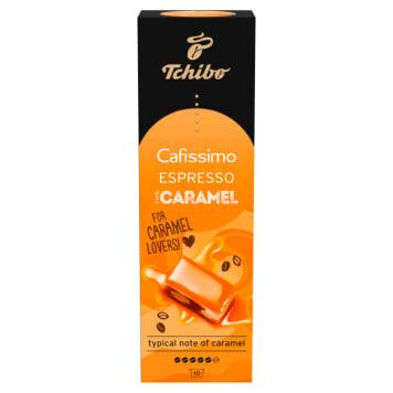 TCHIBO Cafissimo Espresso Caramel Kawa aromatyzowana w kapsułkach 10 kapsułek 75g