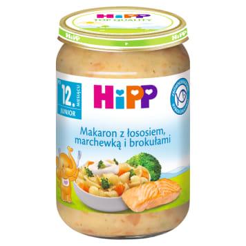 HIPP Makaron z łososiem marchewką i brokułami po 15. miesiącu 250g