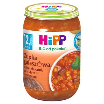 HIPP Zupa gulaszowa ziemniaki, pomidory i wołowina po 12 m-cu BIO 250g