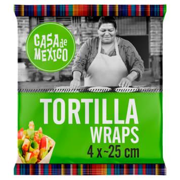 CASA DE MEXICO Wrapy pszenne (25cm) - 4 szt. 1szt