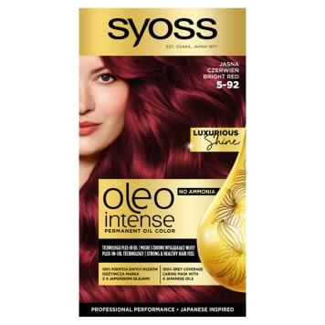 SYOSS Oleo Intense Farba do włosów 5-92 Jasna Czerwień 50ml