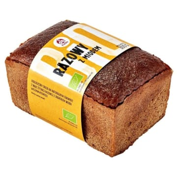 PUTKA Chleb razowy z miodem BIO 300g