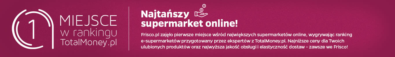 Pierwsze miejsce w rankingu TotalMoney.pl