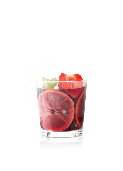 Sangria z białych owoców