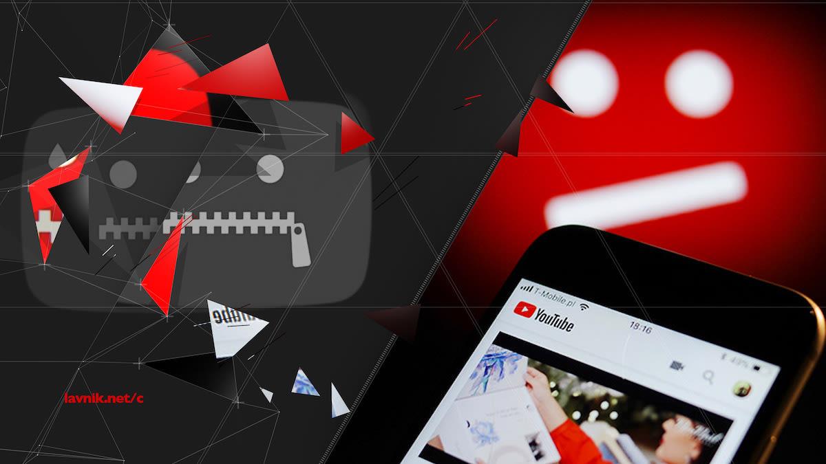 Блокировка YouTube, Instagram, watsapp, facebook в россии