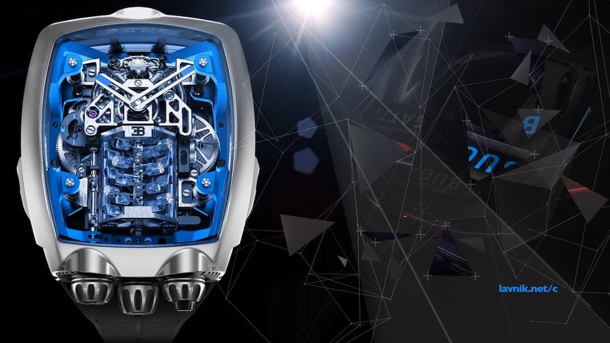 часы Bugatti Chiron