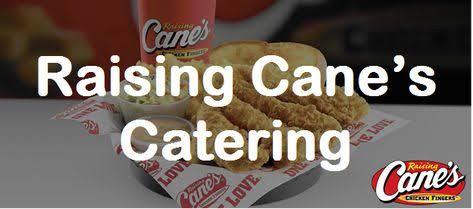 raising canes catering