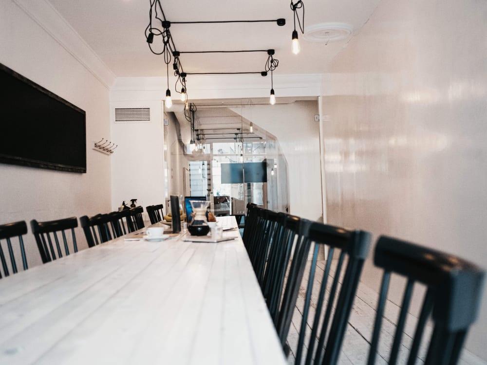 Djäkne Startup Studio offers conference rooms for hire. Contact info@djakne.com.