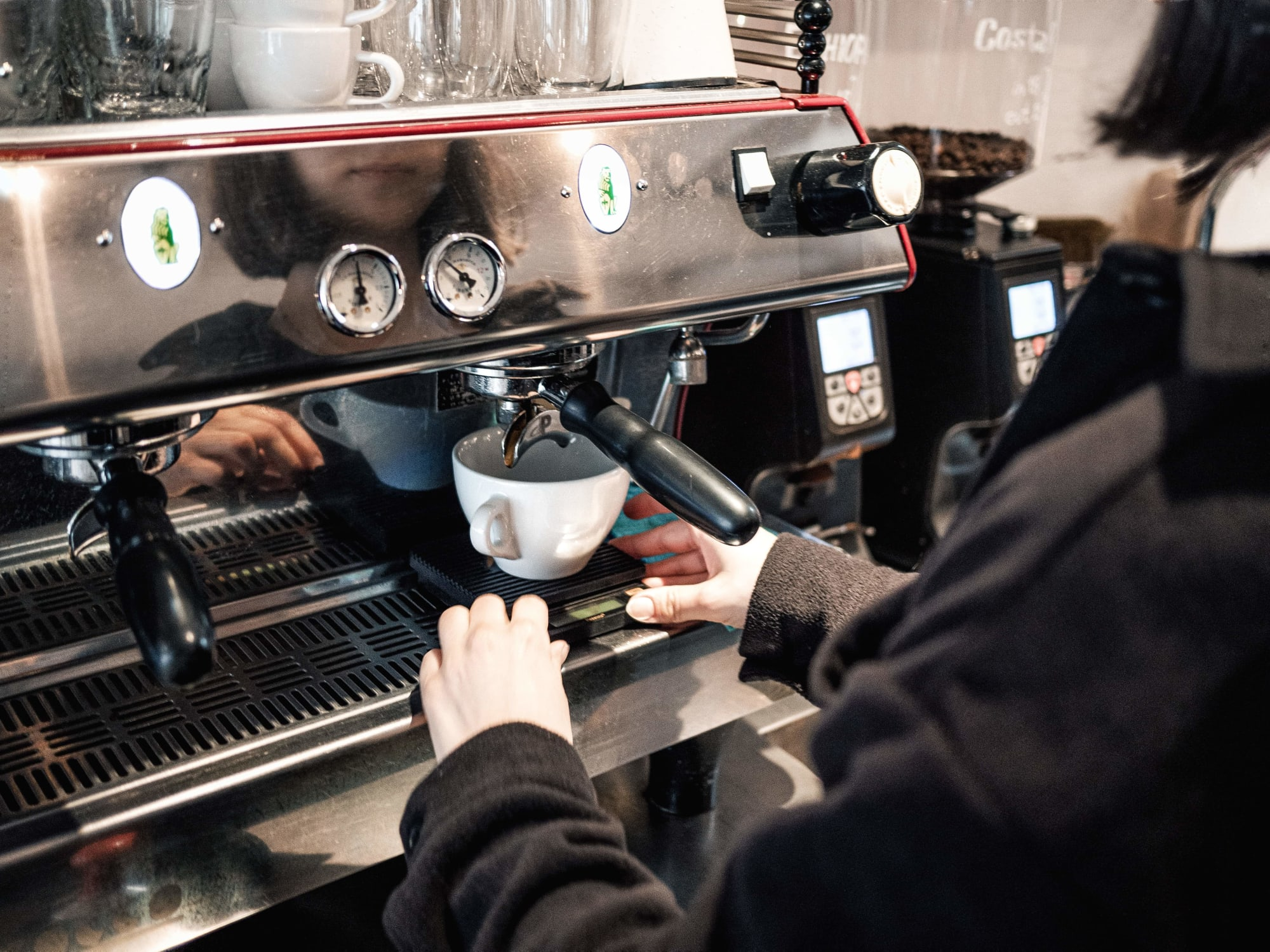 Djäkne Coffee Bar is a specialty coffee bar that is situated in the city centre of Malmö in Sweden.