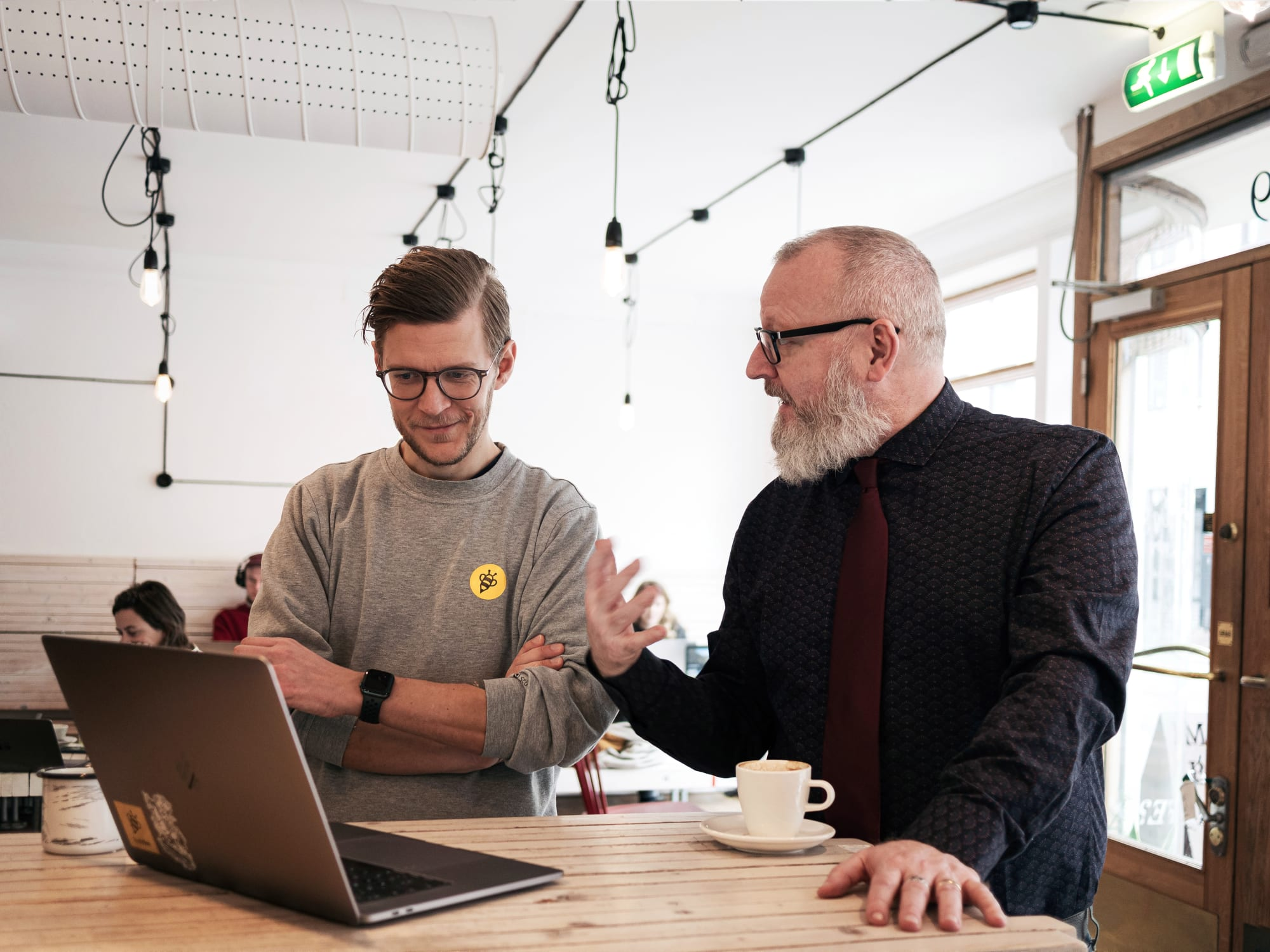 Djäkne Startup Studio supports its portfolio startups with expertise within corporate governance, business strategy, financing, tech, organization, design and communications.
