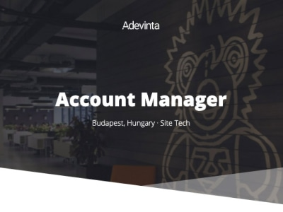 Account Manager @ Adevinta Hungary