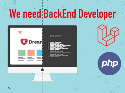 Laravel Backend fejlesztő @ DreamJo.bs