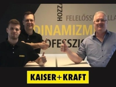 Értékesítés támogató munkatárs @ KAISER+KRAFT Kft.