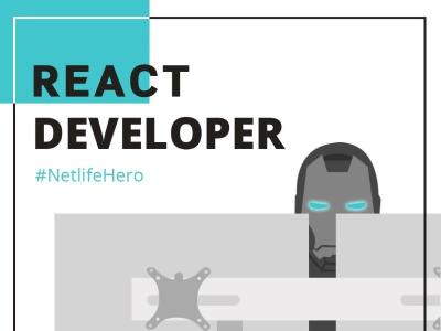 React developer @ Netlife Consulting