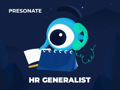 HR Generalist @ Presonate