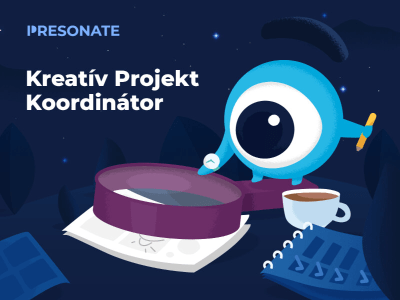Kreatív projekt koordinátor @ Presonate