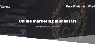 Online marketing munkatárs @ Adevinta Hungary