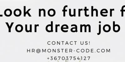 Senior - Medior Frontend developer @ Monster Code