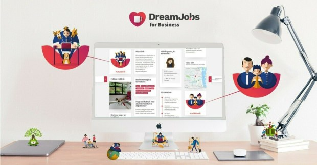 Nemcsak egy álláshirdetési portál, hanem egy kiváló marketing eszköz? Ez a Dreamjo.bs!