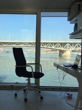A38 Hajó - Fotó az irodáról  - Budapest, 1117 Hungary, Petőfi Híd, Budai Hídfő