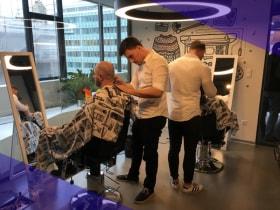Adevinta Hungary - Movember Barber Shop