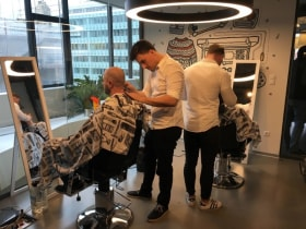 Adevinta Hungary - Movember Barber Shop