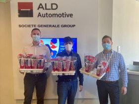 ALD Automotive - Nőnap: virág kiszállítás HO-ba
