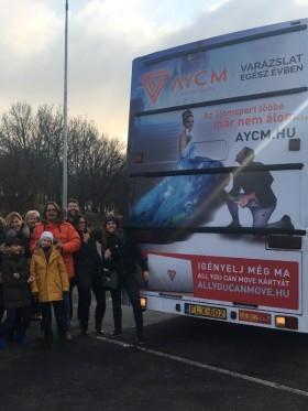 All You Can Move SportPass - Hamupipőke buszos csapattúra