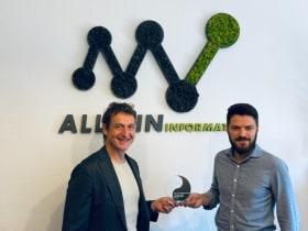 ALLWIN Informatika - Sitecore legjobb partnerei díj