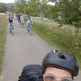 Danube bend bike trip