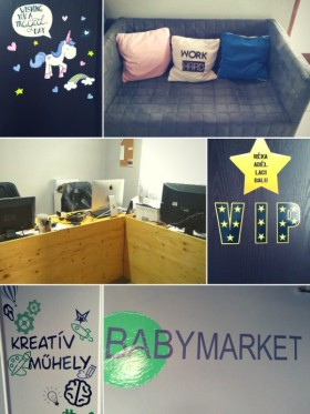 Babymarket - Fotó az irodáról