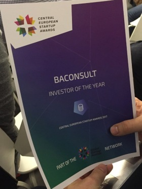 Baconsult - Investor Of The Year