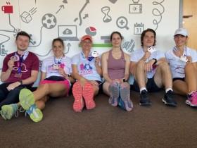 BCA Hungary - 48 pár futócipő = BCA csapat