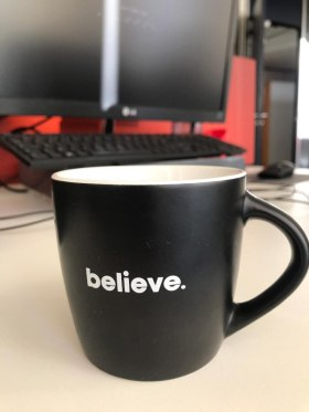 Believe Distribution Services - Favourite thing in the office  - Budapest, Hongrie