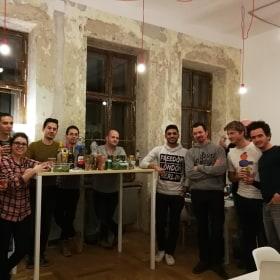 New office room celebration