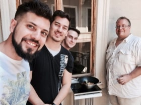 Bene Studio - Grill on the balcony