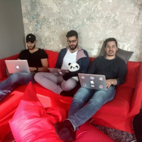 We do relax, while working :)