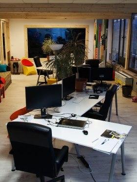 BIG FISH - Fotó az irodáról
