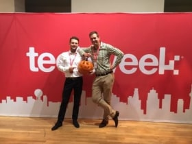 Brokerchooser - Techweek pumpkin
