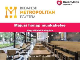 Budapesti Metropolitan Egyetem - 2019 május hónap munkahelye