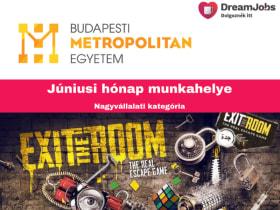 Budapesti Metropolitan Egyetem - 2019 június hónap munkahelye