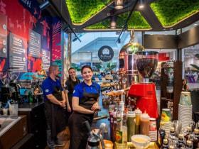 CAFE FREI - Fotó az irodáról  - Budapest, Váci út 17, 1134 Magyarország