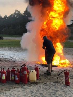 CertUnion - Tűzoltási gyakorlat 2018