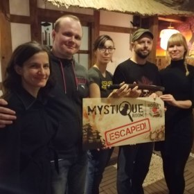 Finally, we escaped!